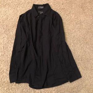 Boys black dress shirt